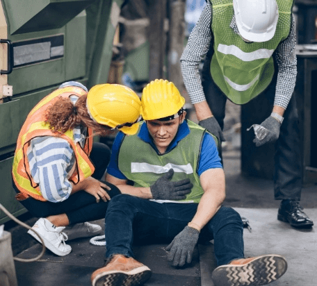 injured-worker-at-factory
