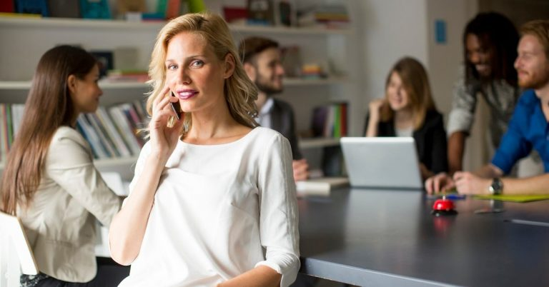 blonde-woman-on-phone